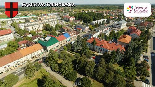 Dąbrowa Tarnowska centrum miasta stan z 2013 r Wirtualne spracery 3D po Dąbrowie Tarnowskiej