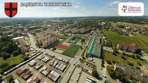 Dąbrowa Tarnowska strona północna Wirtualne spracery 3D po Dąbrowie Tarnowskiej