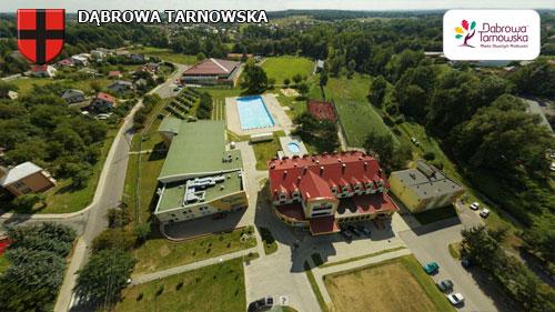 Dąbrowa Tarnowska strona północno wschodnia Wirtualne spracery 3D po Dąbrowie Tarnowskiej