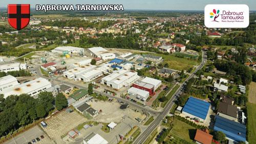 Dąbrowa Tarnowska strona południowo zachodnia Wirtualne spracery 3D po Dąbrowie Tarnowskiej