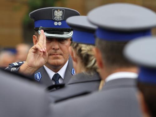 Policja Życzenia Samorządu Gminnego na Święto Policji