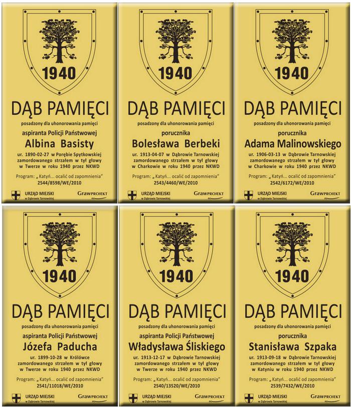 DębyPamięci2010 W 81. rocznicę agresji Sowieckiej Rosji na Polskę, samorządowcy oddali hołd pomordowanym na Wschodzie