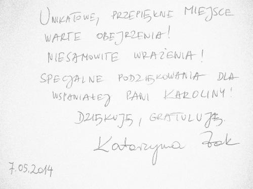 """1 zdjecie 001 Ośrodek Spotkania Kultur oczarował aktorkę """"Rancza"""""""