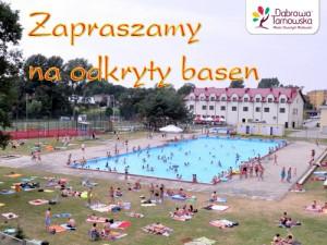 Otwarte Zawody Pływackie na basenie odkrytym @ Basen Odkryty   Dąbrowa Tarnowska   Województwo małopolskie   Polska
