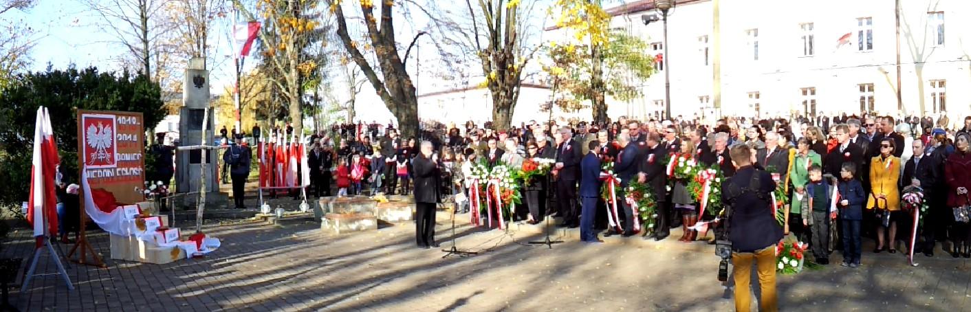 11listopada2014 DabrowaTarnowska 1 Dąbrowskie obchody 96 Rocznicy Odzyskania Niepodległości przez Polskę
