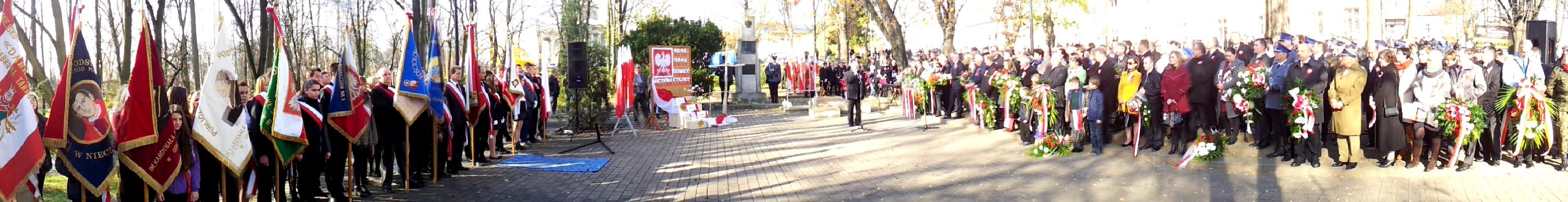 11listopada2014 DabrowaTarnowska 3 Dąbrowskie obchody 96 Rocznicy Odzyskania Niepodległości przez Polskę