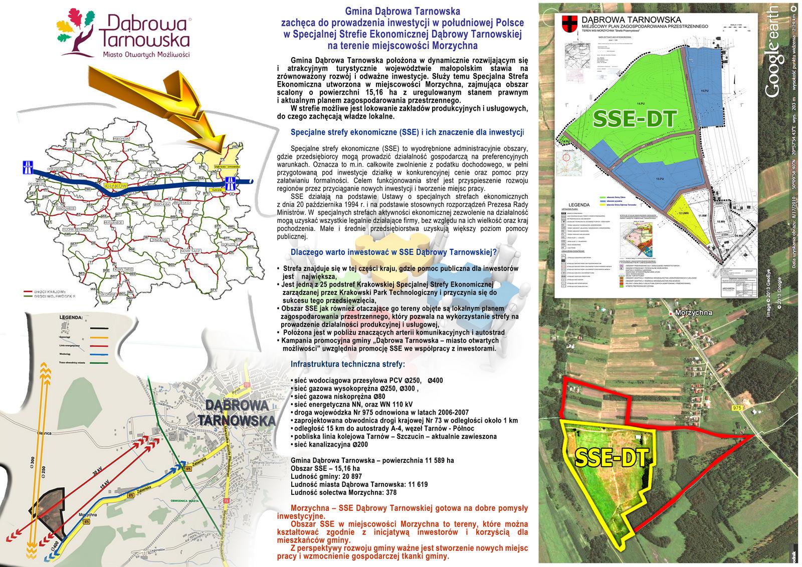 2 SSE Morzychna FOLDER A4 3  <cent />Foldery promocyjno   informacyjne, prezentacje<br>Specjalnej Strefy Ekonomicznej Dąbrowa Tarnowska</center>