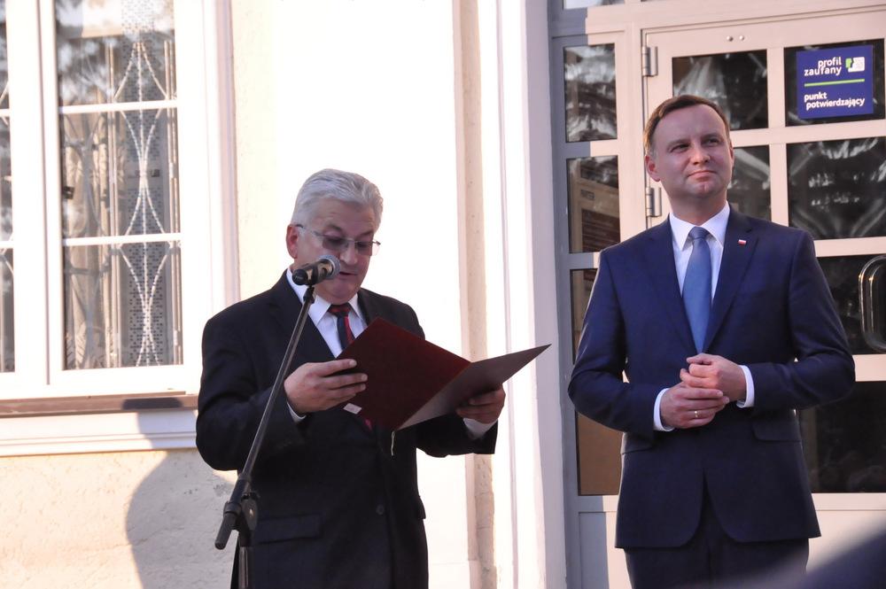"""DSC 0174 001 """"Dziękuję za Wasze głosy"""" – Prezydent Andrzej Duda w Dąbrowie Tarnowskiej"""