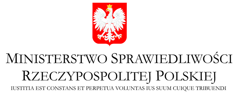 Znalezione obrazy dla zapytania ministerstwo sprawiedliwoÅ›ci logo
