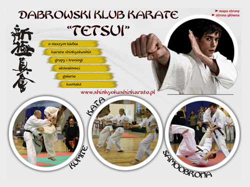 """Dąbrowski Klub Karate TETSUI Dąbrowski Klub Karate Shinkyokushin """"Tetsui"""" zaprasza na treningi"""