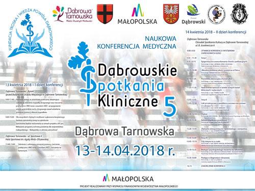 Przed Nami Naukowa Konferencja Medyczna V Dąbrowskie