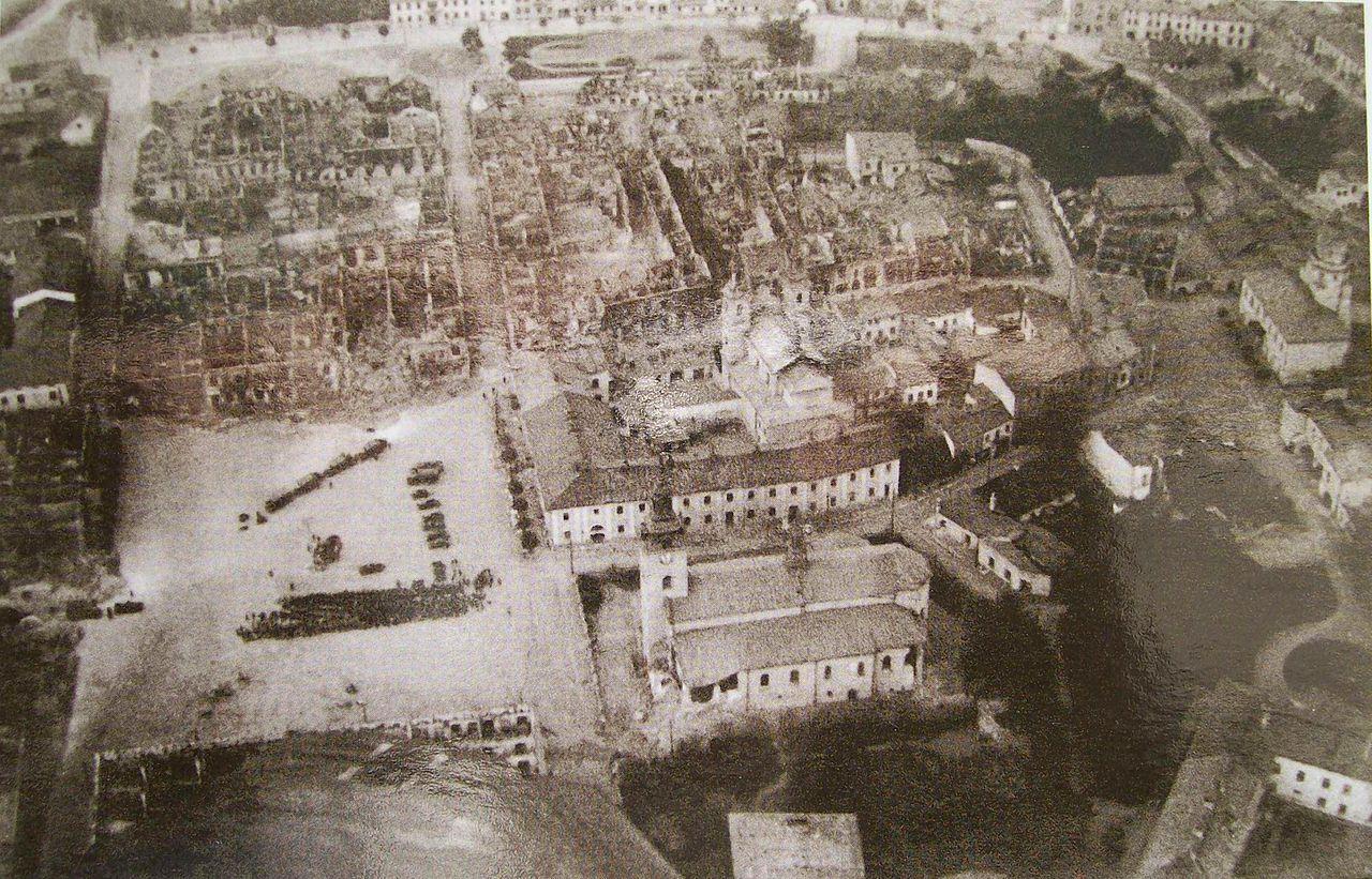 Wielun zniszczenia3 80. rocznica napaści hitlerowskich Niemiec na Polskę i wybuchu II Wojny Światowej