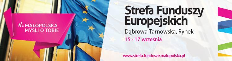 Dabrowa 750x200 Strefa Funduszy Europejskich Małopolska Myśli o Tobie zaprasza do Dąbrowy Tarnowskiej – 15 17 września