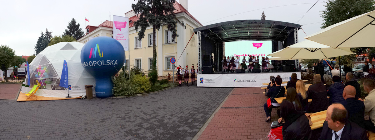 SEF2017 Dąbrwa Tarnowska 1 Strefa Funduszy Europejskich w Dąbrowie Tarnowskiej