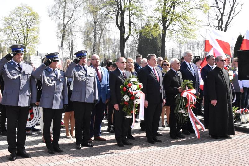 DSC 0047 Marsz pamięci i Apel Katyński w Dąbrowie Tarnowskiej