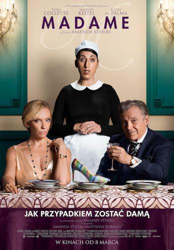 """Madame plakat """"Kino na szpilkach"""" w najbliższy piątek z komedią """"Madame"""""""