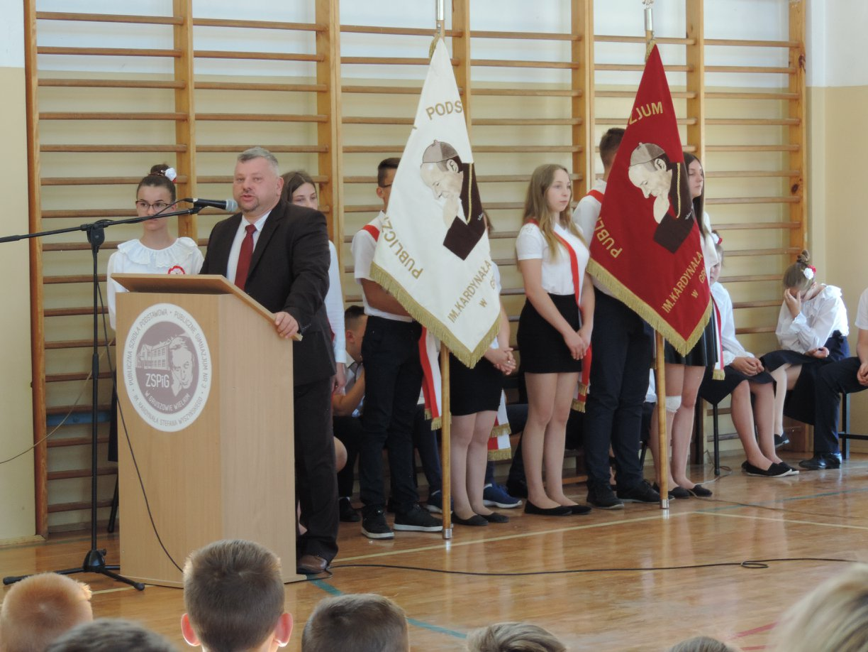 GW 01 Dzień Patrona w Publicznej Szkole Podstawowej w Gruszowie Wielkim