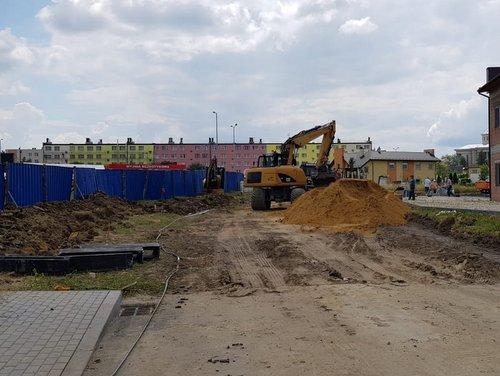 IMG 20180615 WA0001 Budowa drogi bocznej od ulicy Sucharskiego w Dąbrowie Tarnowskiej