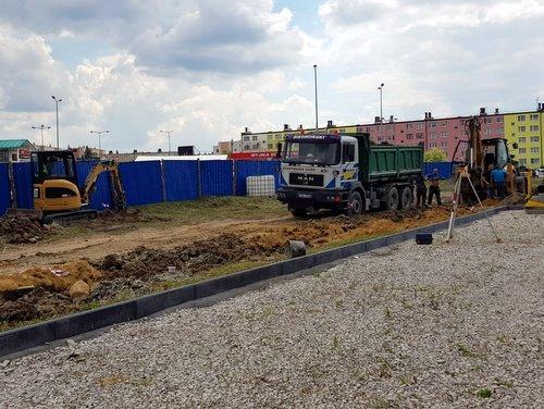 IMG 20180615 WA0006 Budowa drogi bocznej od ulicy Sucharskiego w Dąbrowie Tarnowskiej