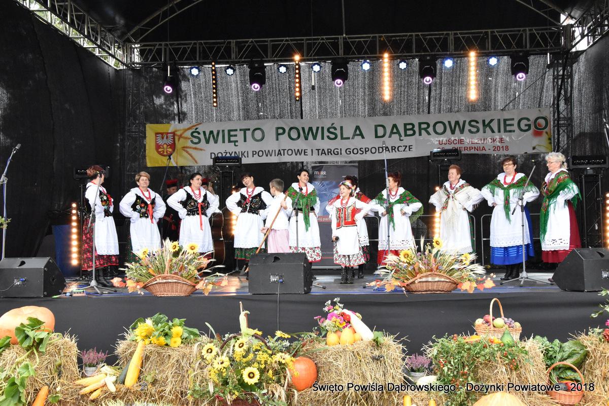 Dozynki Powiatowe 2018 www dabrowatar pl 107 Udział Gminy Dąbrowa Tarnowska w Święcie Powiśla Dąbrowskiego 2018 w Ujściu Jezuickim