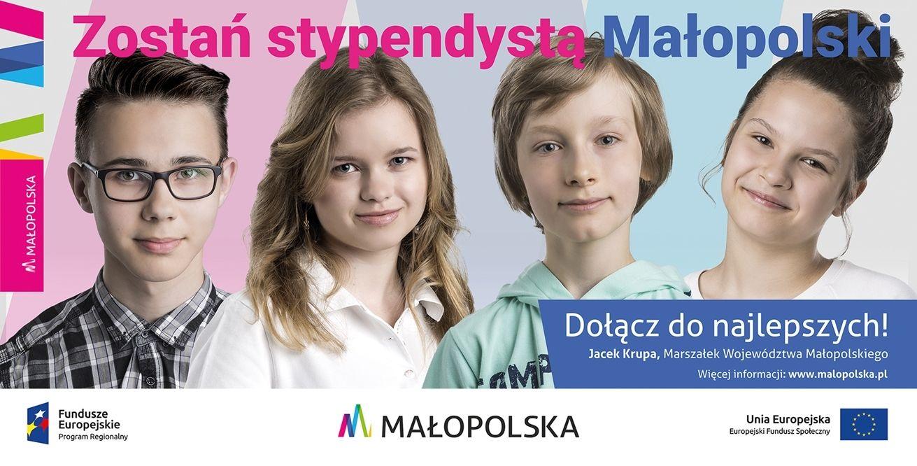 billboard 1 Dołącz do najlepszych – zostań stypendystą Małopolski!