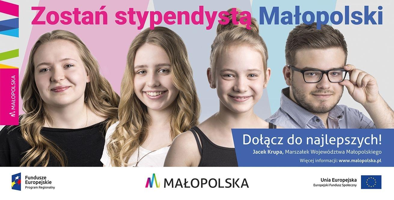 billboard 3 Dołącz do najlepszych – zostań stypendystą Małopolski!