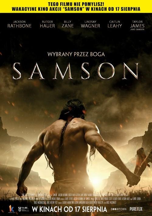 """sam plakat 001 """"Samson"""" – biblijna historia wśród wrześniowych propozycji Kina """"Sokół"""""""