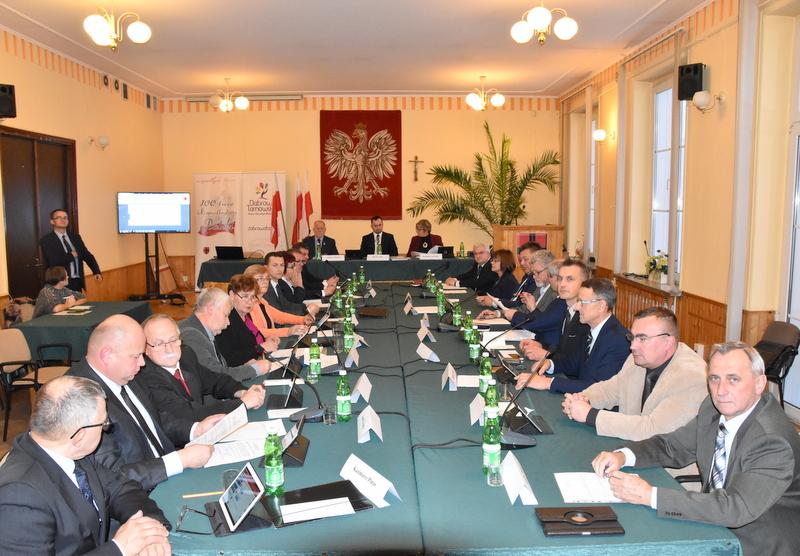 DSC 0487 Nadzwyczajna sesja Rady Miejskiej w Dąbrowie Tarnowskiej