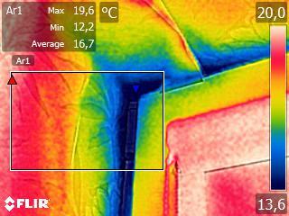 termowizja budynku wewn Bezpłatne badanie kamerą termowizyjną możliwe dla mieszkańców gminy Dąbrowa Tarnowska
