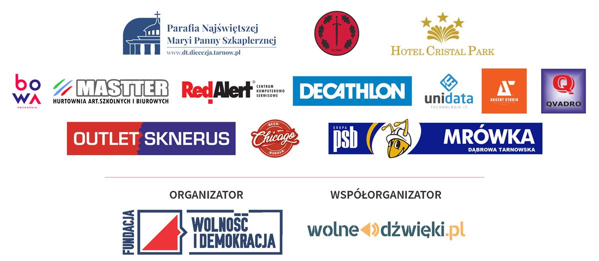 """Sponsorzy BTW2019 Zapraszamy na Bieg Pamięci Żołnierzy Wyklętych """"Tropem Wilczym"""" – 3 marca br."""