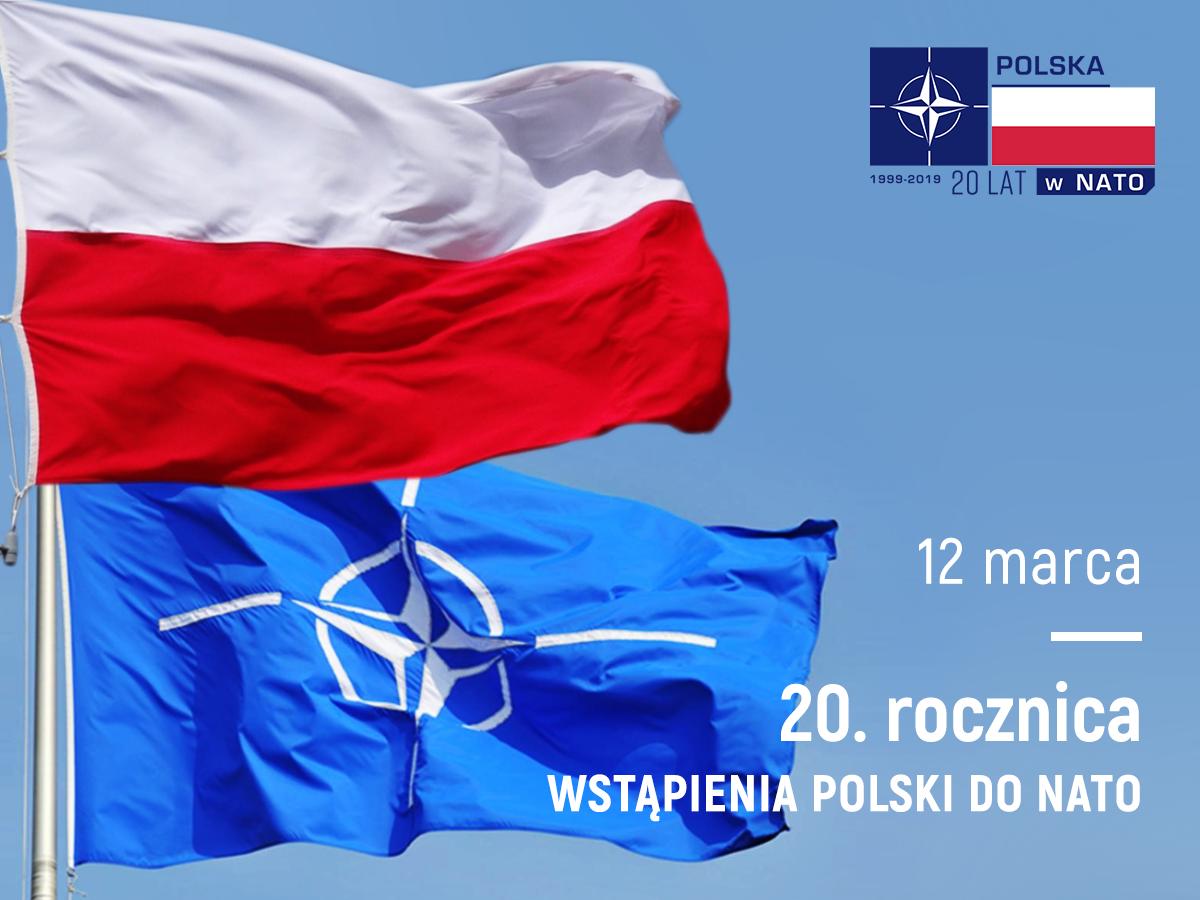 POL NATO 20lat 20 lat członkowska Polski w NATO