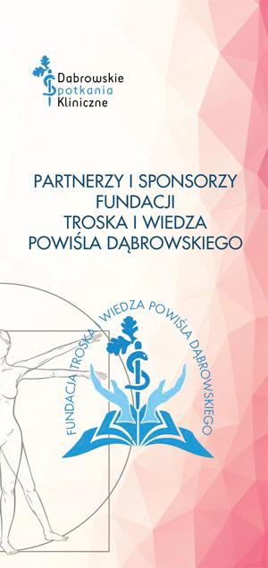 DL Reklamowa DSK 2019 rozkładówka www 1 Niezwykle udana naukowa konferencja 6. Dąbrowskie Spotkania Kliniczne