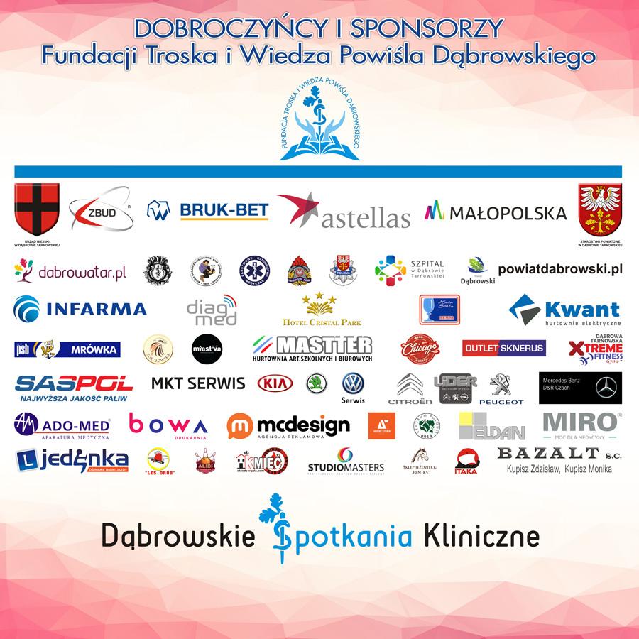 DSK6 sponsorzy partnerzy dobroczyńcy Niezwykle udana naukowa konferencja 6. Dąbrowskie Spotkania Kliniczne