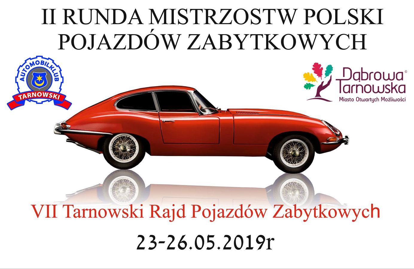 II Runda Mistrzostw Polski Pojazdów Zabytkowych Mistrzostwa Polski Pojazdów Zabytkowych także w Dąbrowie Tarnowskiej