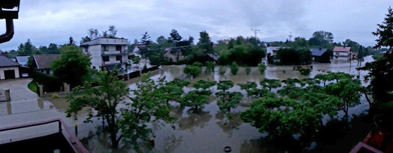 IMG 20190522 WA0003 Sytuacja powodziowa na terenie gminy Dąbrowa Tarnowska z dnia 22 maja br. godz. 8:00