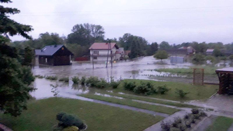 IMG 20190522 WA0006 Sytuacja powodziowa na terenie gminy Dąbrowa Tarnowska z dnia 22 maja br. godz. 8:00