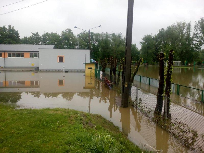 IMG 20190522 WA0030 Sytuacja powodziowa na terenie gminy Dąbrowa Tarnowska z dnia 22 maja br. godz. 8:00