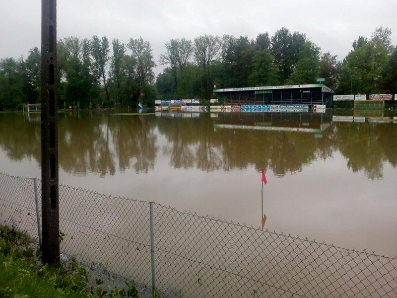 IMG 20190522 WA0031 Sytuacja powodziowa na terenie gminy Dąbrowa Tarnowska z dnia 22 maja br. godz. 8:00