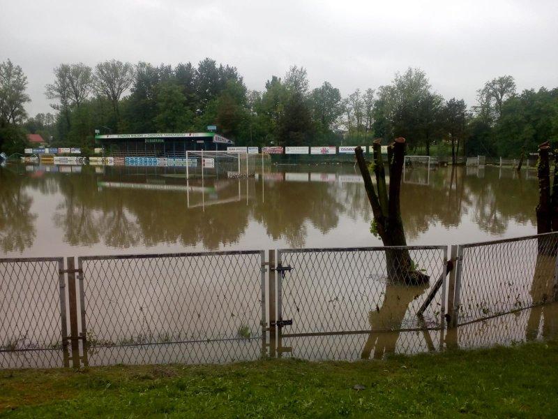 IMG 20190522 WA0032 Sytuacja powodziowa na terenie gminy Dąbrowa Tarnowska z dnia 22 maja br. godz. 8:00