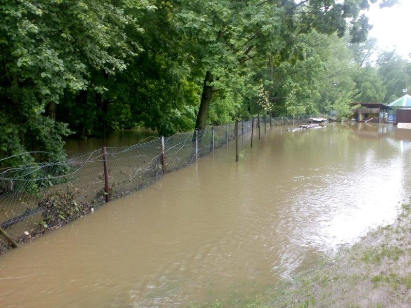 IMG 20190522 WA0036 Sytuacja powodziowa na terenie gminy Dąbrowa Tarnowska z dnia 22 maja br. godz. 8:00
