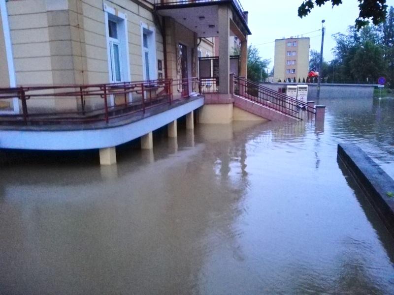 IMG 20190522 042725 Sytuacja powodziowa na terenie gminy Dąbrowa Tarnowska z dnia 22 maja br. godz. 8:00