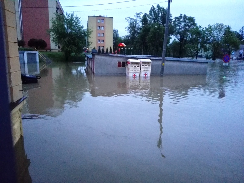 IMG 20190522 042940 Sytuacja powodziowa na terenie gminy Dąbrowa Tarnowska z dnia 22 maja br. godz. 8:00