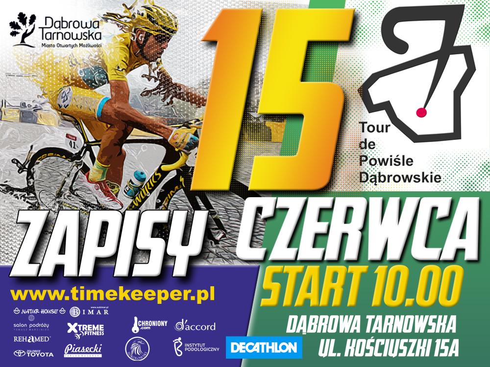 Tour de Powiśle 15 czerwca 2019 Zaproszenie na Tour de Powiśle