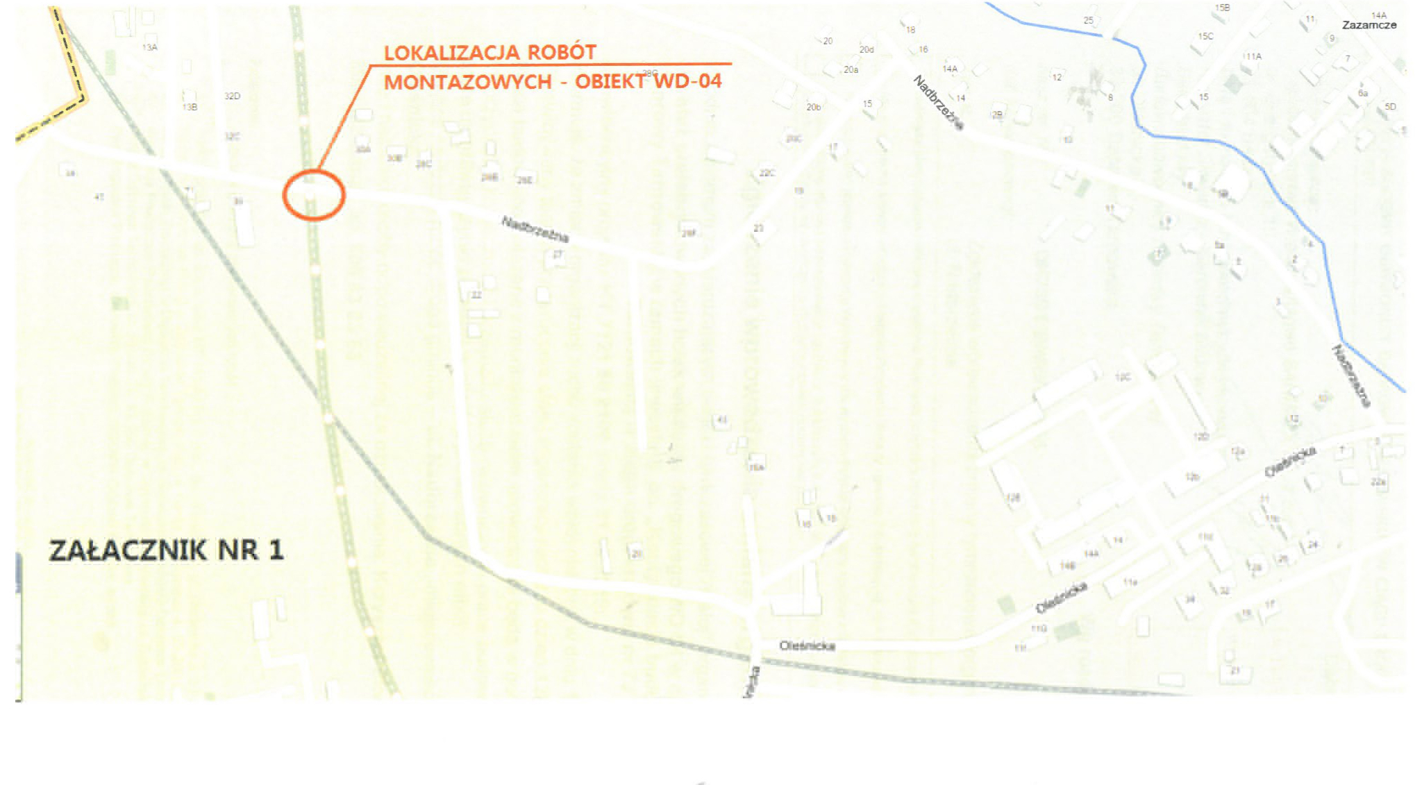 Lokalizacja 0011 Zmiany organizacji ruchu drogowego