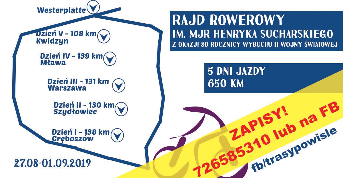 baner zapisy Zapisy na rajd rowerowy na Westerplatte