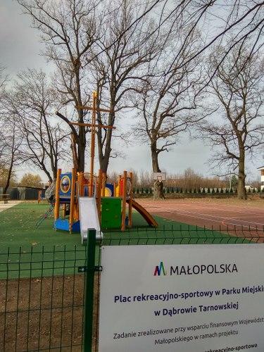 IMG 20191122 1232241 Plac rekreacyjno – sportowy w Parku Miejskim oddany do użytku