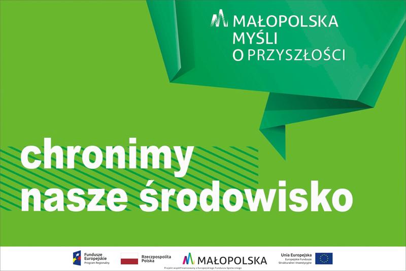 Chronmynaszesrodowisko 120x80cm Szarwark DT Przebudowano Punkty Selektywnej Zbiórki Odpadów Komunalnych w Gminie Dąbrowa Tarnowska