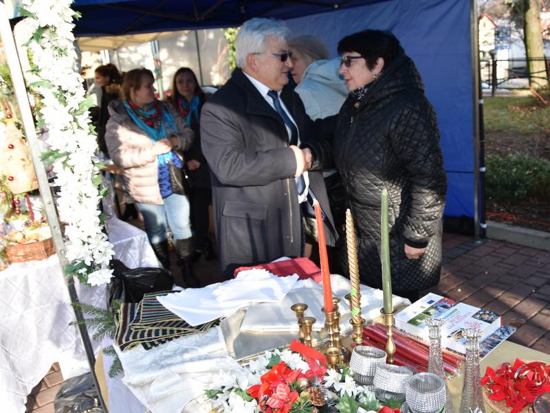 DSC 0444 Relacja z V Kiermaszu Bożonarodzeniowego w Dąbrowie Tarnowskiej