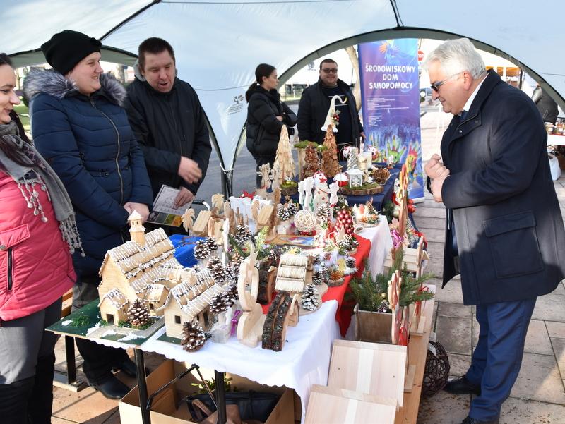 DSC 0452 Relacja z V Kiermaszu Bożonarodzeniowego w Dąbrowie Tarnowskiej