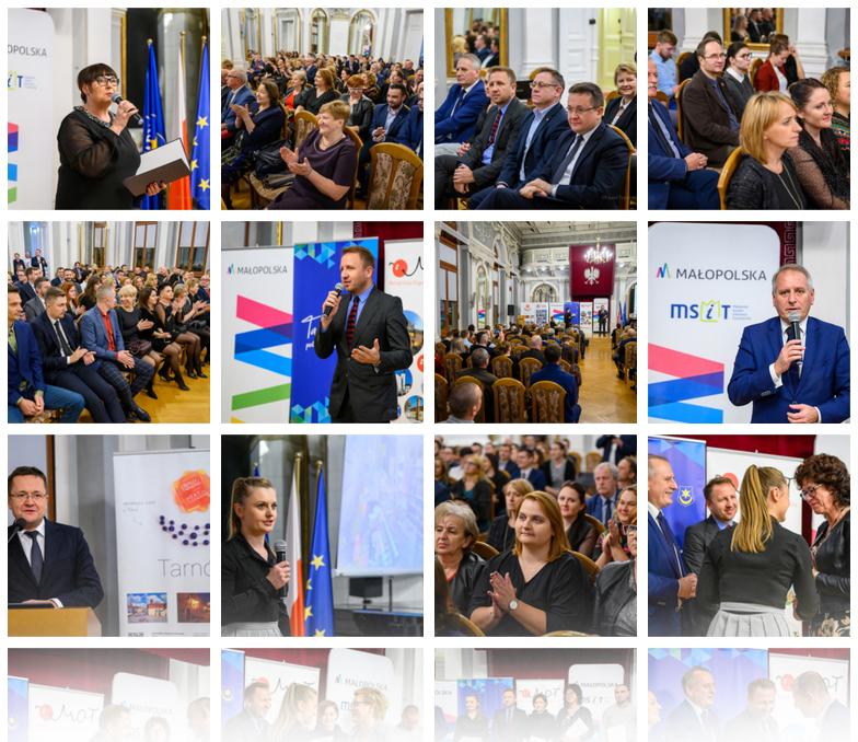 Foto GalaMSIT 2019 Trzygwiazdkowy certyfikat dla PIT MSIT w Dąbrowie Tarnowskiej